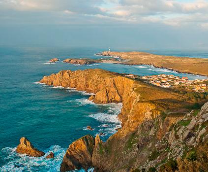 Ruta en moto por la costa gallega