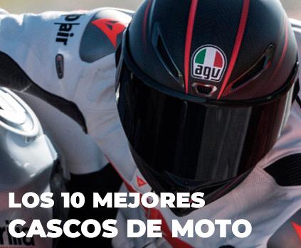 Los 10 mejores cascos de moto