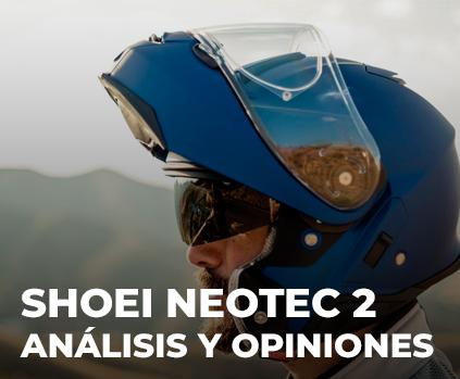 Análisis y opiniones sobre el shoei Neotec 2