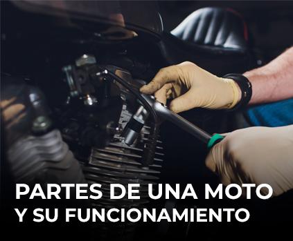 Partes de una moto y su funcionamiento