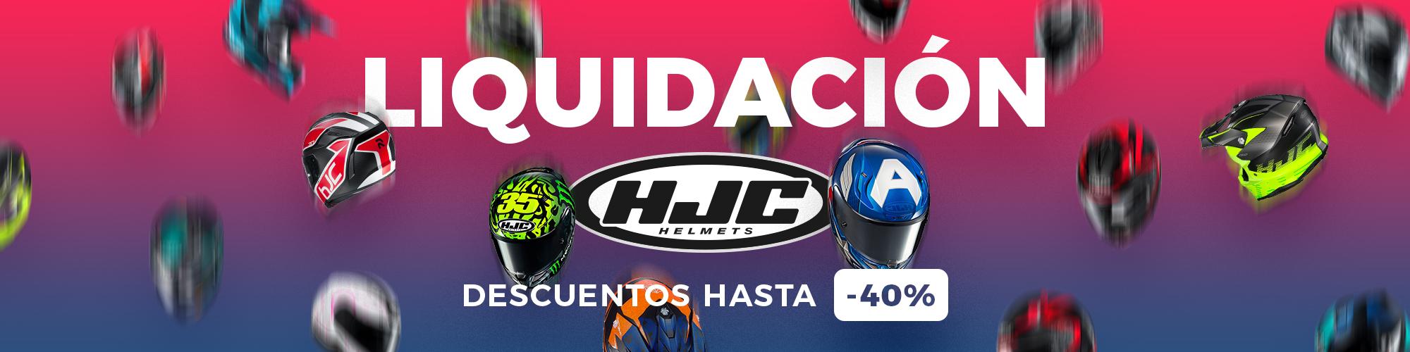 Liquidación HJC 40%